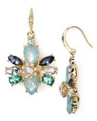 ABS By Allen Schwartz | Multicolor Embellished Drop Earrings | Lyst