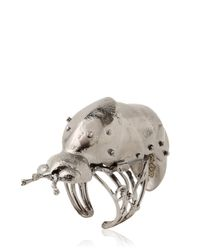 Vernissage Jewellery | Metallic Fire Fly Articulated Ring for Men | Lyst