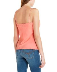 Ted Baker | Pink Tissa Scalloped Edge Cami | Lyst