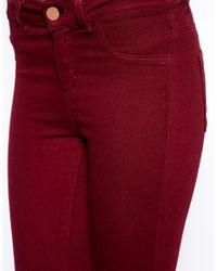 Oasis - Coloured Jade Full Leg Trousers - Lyst