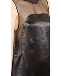 Karla Špetic - Black Long Floating Panel Dress - Lyst