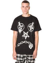 LONG Clothing | Black Long X Mishka Vex T-shirt In Oversized Fit for Men | Lyst