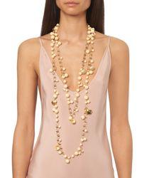 Rosantica By Michela Panero - Metallic Spiaggia Seashell-charm Long Necklace - Lyst