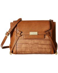 Nine West - Brown Tied And True Crossbody - Lyst