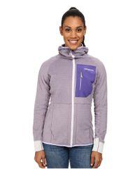 Patagonia - Purple R3 Hoodie - Lyst