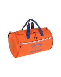 Tommy Bahama | Orange 'tumbler' Duffel Bag for Men | Lyst