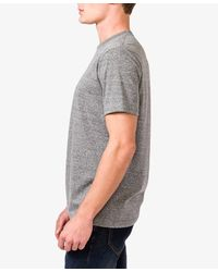 Forever 21 - Gray Heathered Knit Tee for Men - Lyst