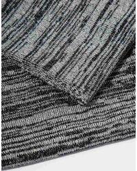 Minimum | Black Printed Snood for Men | Lyst