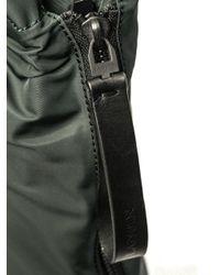 Lanvin - Green Nylon And Calf-Leather Shopper Bag for Men - Lyst