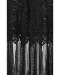 N°21 - Black Guenda Tulle Skirt - Lyst
