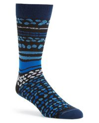 Hook + Albert | Blue 'bermuda' Socks for Men | Lyst