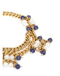 Ela Stone | Multicolor 'Andrea' Sodalite Jade Chain Necklace | Lyst