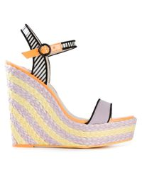 Sophia Webster - Purple 'Lucita' Wedge Sandals - Lyst