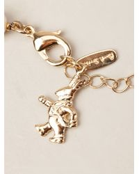 Paul Smith - White Skull Cameo Necklace - Lyst