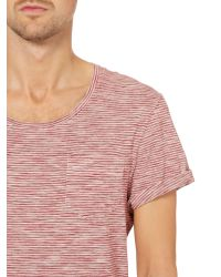 Label Lab | Red Sky Crew Neck Jersey for Men | Lyst