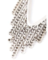 Marc By Marc Jacobs   Metallic 'beat It Fringe Pointer' Necklace   Lyst
