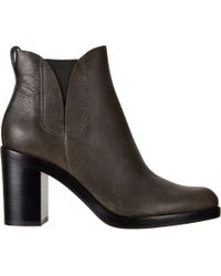 Alexander Wang | Brown Irina Distressed Ankle Boots | Lyst