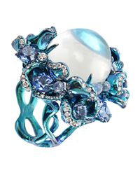 Arunashi - Blue Moonstone Ring - Lyst