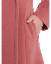 Cloud Nine - Pink Long Wrap Coat - Lyst