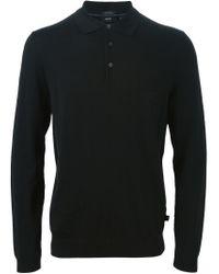 BOSS - Black 'banet' Polo Shirt for Men - Lyst