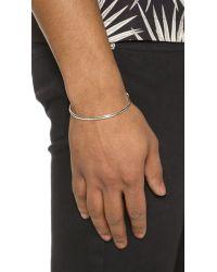 Caputo & Co. - Metallic Sterling Silver Pendant Cuff for Men - Lyst