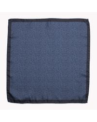 Tommy Hilfiger | Blue Wool Pocket Square for Men | Lyst