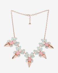 Ted Baker | Black Florena Flower Bloom Necklace | Lyst