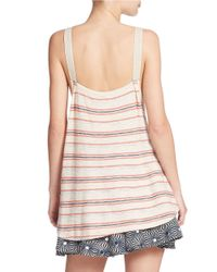 Free People | Multicolor Striped Tank | Lyst