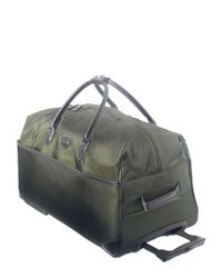 Bric's   Green Pronto 28 Inch Rolling Duffel Bag for Men   Lyst
