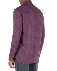 Racing Green | Purple Crane Multi Dobby Shirt for Men | Lyst