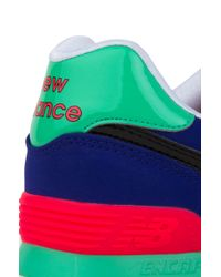 New Balance - Pop Tropical 574 Sneakers In Spectrum Blue - Lyst