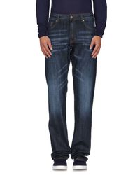Liu Jo | Blue Denim Trousers for Men | Lyst