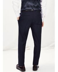Mango - Blue Trousers Trianas for Men - Lyst