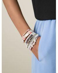 Hipanema - White 'moorea' Bracelet - Lyst