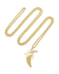 Carolina Bucci - Metallic 18karat Gold Diamond Banana Necklace - Lyst