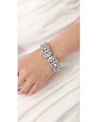Jenny Packham - Metallic Tesoro Bracelet Ii - Lyst