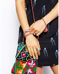Hipanema | Pink Peace Friendship Bracelet | Lyst