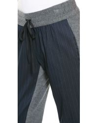 Sachin & Babi - Blue Sachin Babi Astley Stripe Pants Navy - Lyst