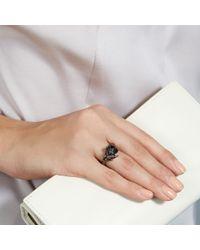 Shaun Leane - Exclusive Black Diamond Cherry Blossom Ring - Lyst