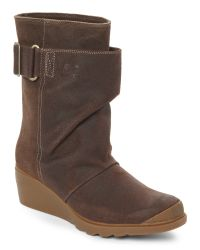 Sorel - Brown Hawk Toronto Mid Wedge Boots - Lyst