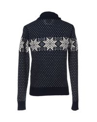 Woolrich | Blue Sweater | Lyst