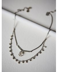 Maniamania | Metallic Starlet Necklace | Lyst