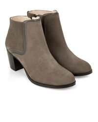 Hobbs - Gray Carys Ankle Boot - Lyst