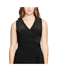 Ralph Lauren - Black Lauren Fringed Dress - Lyst
