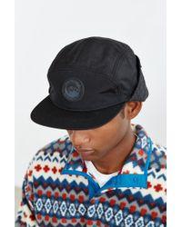 Coal - Black The Tracker Earflap 5-panel Hat for Men - Lyst