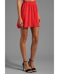 Donna Mizani - Circlet Skirt in Red - Lyst