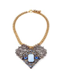 Lulu Frost | Metallic 50 Year Necklace #34 | Lyst