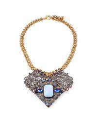 Lulu Frost - Metallic 50 Year Necklace #34 - Lyst