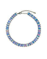 Nasty Gal - Feeling Blue Collar Necklace - Lyst