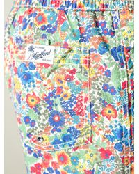 Hartford - Multicolor Printed Swim Shorts for Men - Lyst